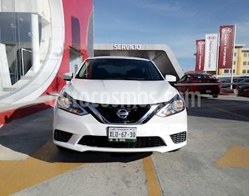 Foto Nissan Sentra Sense usado (2018) color Blanco precio $215,000