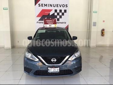 Foto venta Auto usado Nissan Sentra Sense (2017) color Azul Oriental precio $185,000