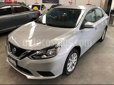 Foto venta Auto usado Nissan Sentra Sense (2018) color Plata precio $215,000
