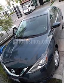 Nissan Sentra Sense usado (2017) color Azul Electrico precio $180,000