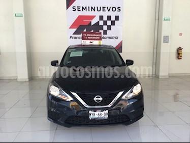 Foto venta Auto usado Nissan Sentra Sense (2017) color Negro precio $1,950,000