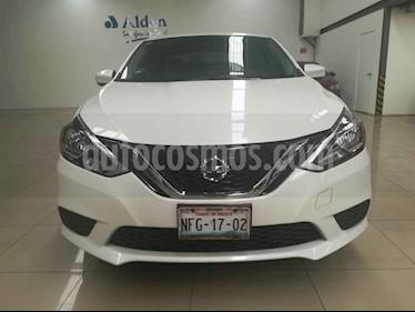 Foto Nissan Sentra Sense usado (2017) color Blanco precio $195,000