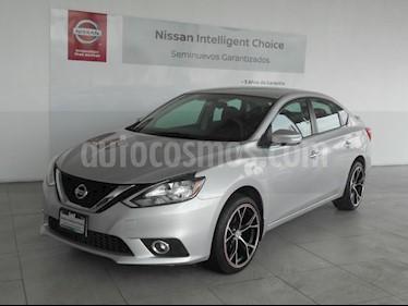 Foto venta Auto Seminuevo Nissan Sentra Sense (2017) color Plata precio $219,000