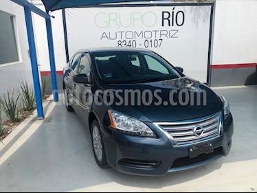 Foto venta Auto usado Nissan Sentra Sense (2016) color Azul precio $175,000
