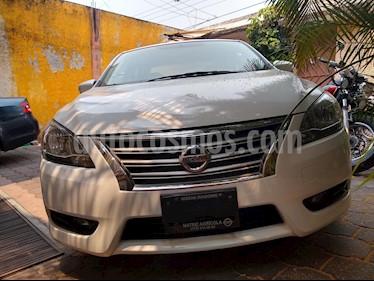 Nissan Sentra Sense usado (2015) color Blanco precio $155,000