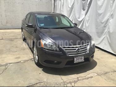 Foto venta Auto usado Nissan Sentra SENTRA 1.8 EXCLUSIVE NAVI CVT 4P (2016) color Grafito precio $215,000