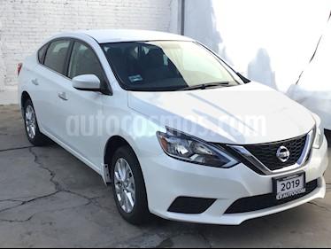 Foto venta Auto usado Nissan Sentra SENTRA 1.8 SENSE 4P (2019) color Blanco precio $240,000