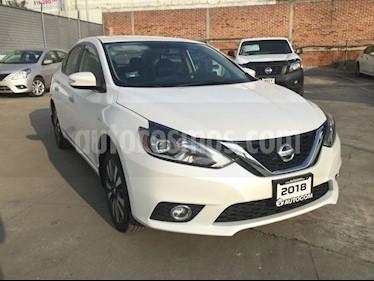 Foto venta Auto Seminuevo Nissan Sentra SENTRA EXCLUSIVE NAVI CVT (2018) color Blanco precio $308,000