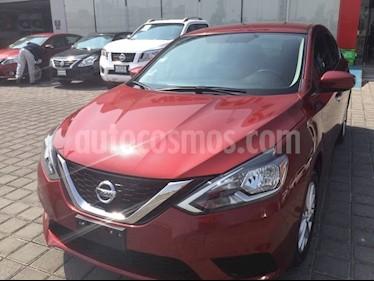 Foto venta Auto usado Nissan Sentra SENTRA SENSE MT (2017) color Rojo precio $215,000