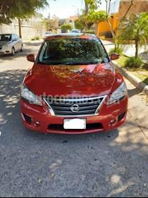 Nissan Sentra SR Aut NAVI usado (2016) color Rojo precio $203,000