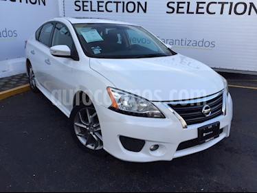 Foto venta Auto usado Nissan Sentra SR Aut NAVI (2013) color Blanco Perla precio $145,000