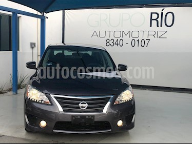 Foto Nissan Sentra SR Aut usado (2014) color Gris precio $168,000