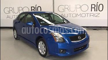 Foto Nissan Sentra SR Aut usado (2011) color Azul Electrico precio $119,000