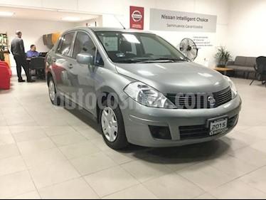 Foto venta Auto Seminuevo Nissan Sentra TIIDA SEDAN SENSE TM (2015) color Gris precio $145,000