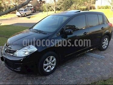 Nissan Tiida Hatchback Visia usado (2009) color Negro precio $260.000