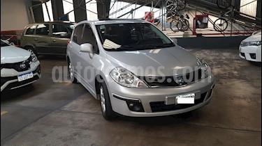 Foto venta Auto usado Nissan Tiida Hatchback Tekna (2011) color Plata Metalizado precio $259.900