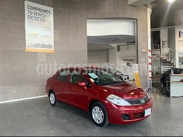 Nissan Tiida HB Premium Aut usado (2016) color Rojo precio $125,000