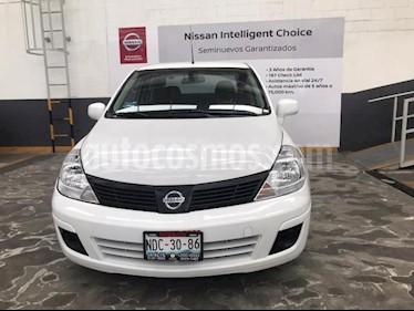 Nissan Tiida HB Premium Aut usado (2018) color Blanco precio $175,000