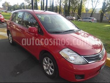 Foto venta Auto usado Nissan Tiida HB Premium Aut (2008) color Rojo precio $70,000