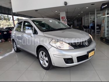 Nissan Tiida Sedan 4P ADVANCE TM6 A/AC. CD BA RA-16 usado (2015) color Plata precio $138,000