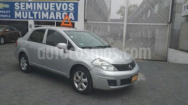 Foto venta Auto usado Nissan Tiida Sedan 4p Sedan Advance L4/1.8 Aut (2015) color Plata precio $138,000