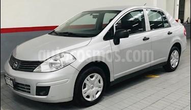 Foto venta Auto usado Nissan Tiida Sedan 4p Sedan Confort L4/1.8 Man (2011) color Plata precio $98,000