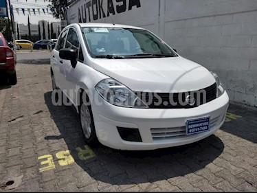 Foto venta Auto usado Nissan Tiida Sedan 4p Sedan Drive L4/1.6 Man (2015) color Blanco precio $120,000