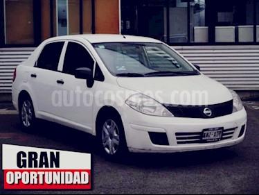 Foto venta Auto usado Nissan Tiida Sedan 4p Sedan Drive L4/1.6 Man (2016) color Blanco precio $130,000