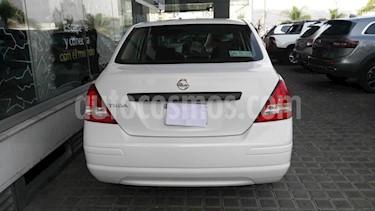Foto venta Auto usado Nissan Tiida Sedan 4p Sedan Drive L4/1.6 Man (2017) color Blanco precio $145,000