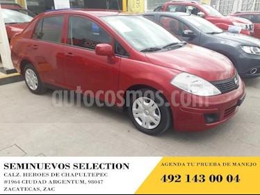Foto venta Auto usado Nissan Tiida Sedan 4p Sedan Sense L4/1.8 Aut (2016) color Amarillo precio $145,000