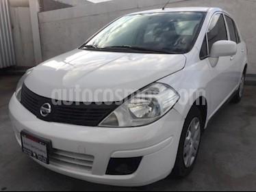 Foto venta Auto usado Nissan Tiida Sedan 4p Sedan Sense L4/1.8 Man (2015) color Blanco precio $105,000