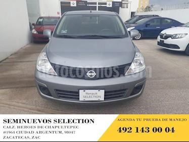 Foto venta Auto usado Nissan Tiida Sedan 4p Sedan Sense L4/1.8 Man (2018) color Gris precio $165,000