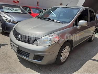 Foto venta Auto usado Nissan Tiida Sedan 4p Sedan Sense L4/1.8 Man (2014) color Plata precio $119,000