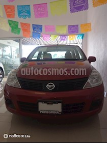 Foto venta Auto Seminuevo Nissan Tiida Sedan Advance Aut (2017) color Rojo Burdeos