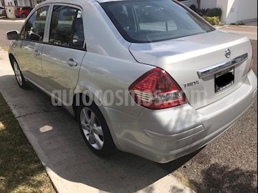 Nissan Tiida Sedan Advance Aut usado (2016) color Plata precio $170,000