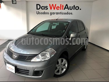 Foto venta Auto Seminuevo Nissan Tiida Sedan Advance (2016) color Gris Oxford