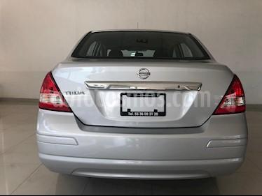 Foto venta Auto usado Nissan Tiida Sedan Advance (2018) color Plata precio $185,000