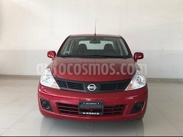 Foto venta Auto usado Nissan Tiida Sedan Advance (2018) color Rojo Burdeos precio $185,000