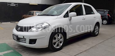 Nissan Tiida Sedan Advance usado (2014) color Blanco precio $105,000