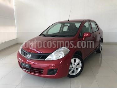 Foto venta Auto usado Nissan Tiida Sedan Advance (2018) color Rojo Burdeos precio $179,900