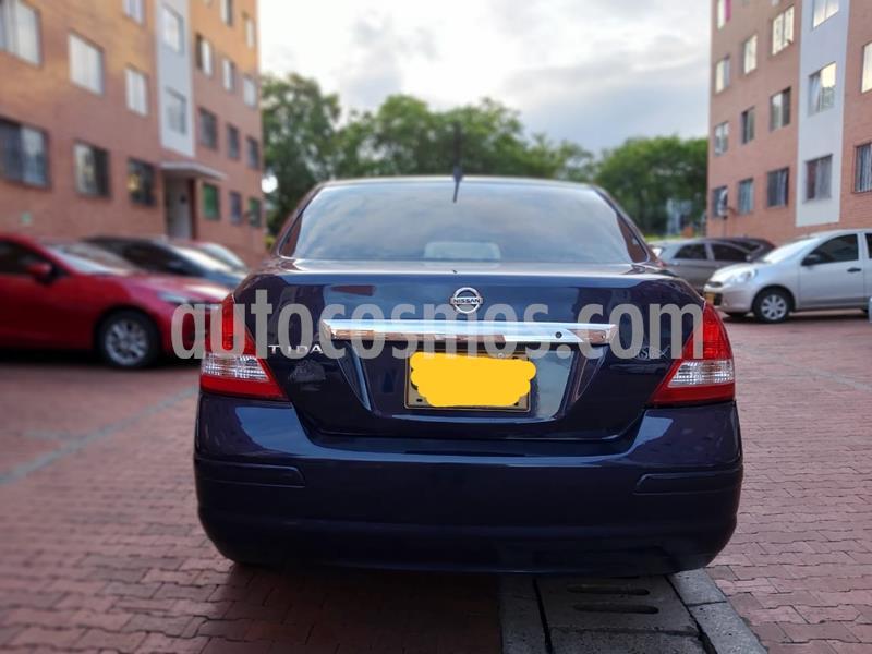 Nissan Tiida Sedan 1.8L Emotion usado (2008) color Azul Oscuro precio $16.900.000
