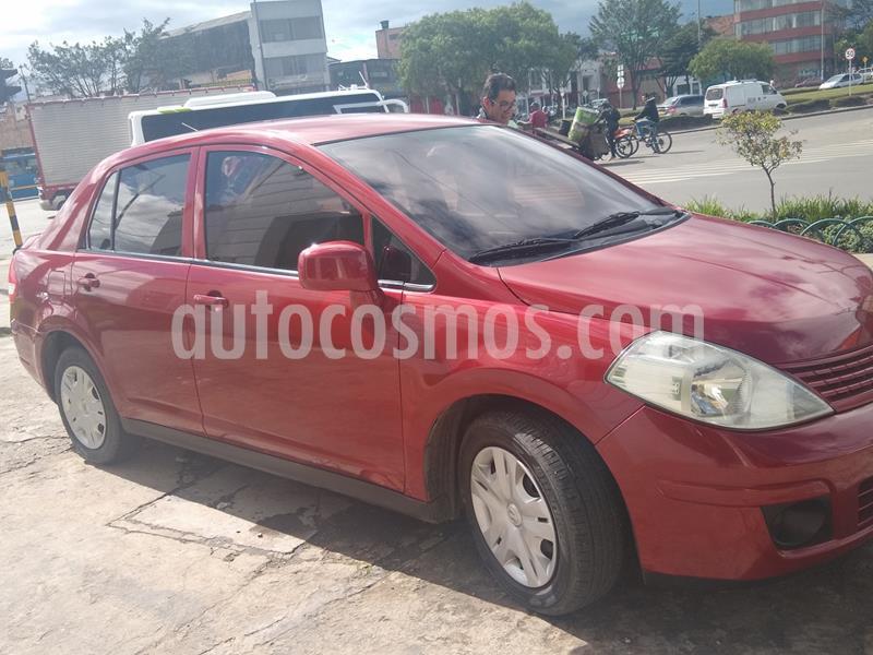 Nissan Tiida Sedan 1.8L Aut usado (2010) color Rojo precio $19.000.000