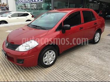 Foto venta Auto Seminuevo Nissan Tiida Sedan Comfort Ac (2011) color Vino Tinto precio $119,000