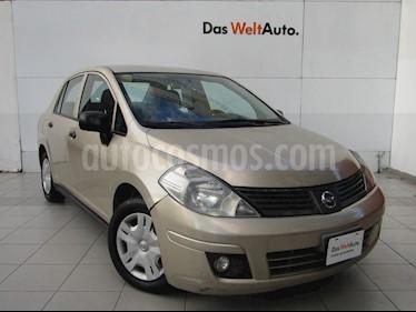 Foto venta Auto Seminuevo Nissan Tiida Sedan Comfort Ac (2011) color Arena Dorada precio $99,000