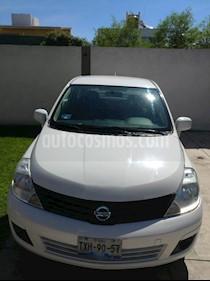 Nissan Tiida Sedan Comfort Ac usado (2012) color Blanco precio $83,900