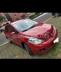 Nissan Tiida Sedan Comfort Ac usado (2011) color Rojo precio $169,100