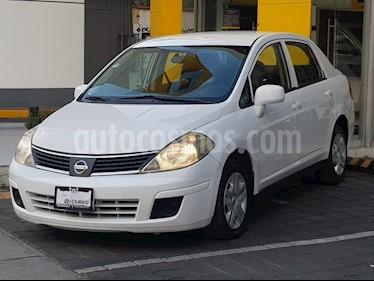 Foto venta Auto usado Nissan Tiida Sedan Comfort Aut Ac (2012) color Blanco precio $95,000
