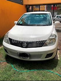 Nissan Tiida Sedan Comfort Aut Ac usado (2012) color Blanco precio $87,000