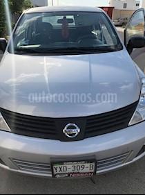Nissan Tiida Sedan Comfort usado (2011) color Plata precio $83,000