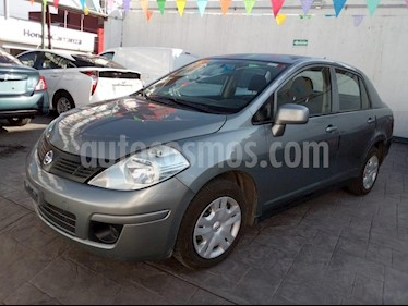 Foto venta Auto Seminuevo Nissan Tiida Sedan Comfort (2012) color Gris precio $109,000
